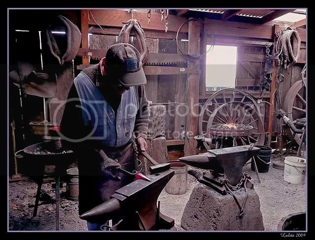Blacksmith, Wandin, Australia