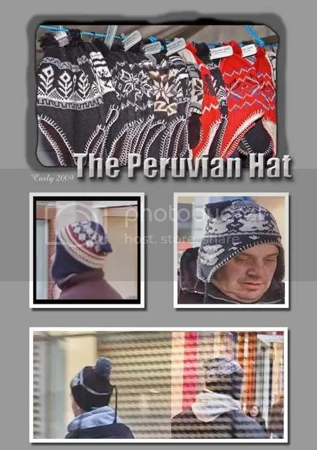 Peruvian hats in South Shields