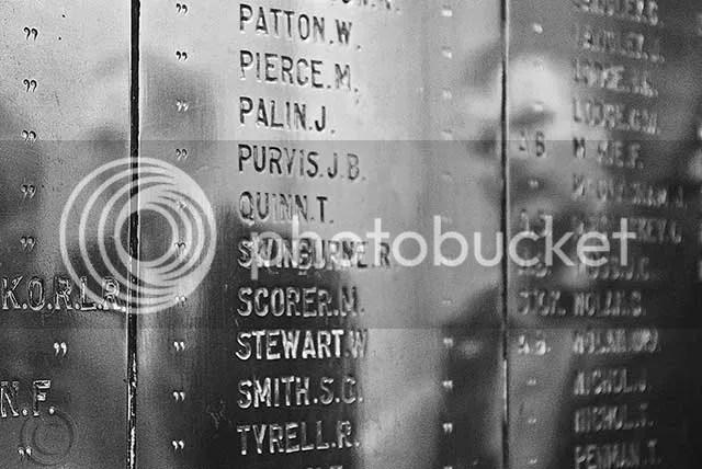 Brunswick War Memorial Plaque