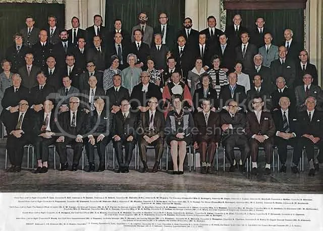 South Shields Council 1973