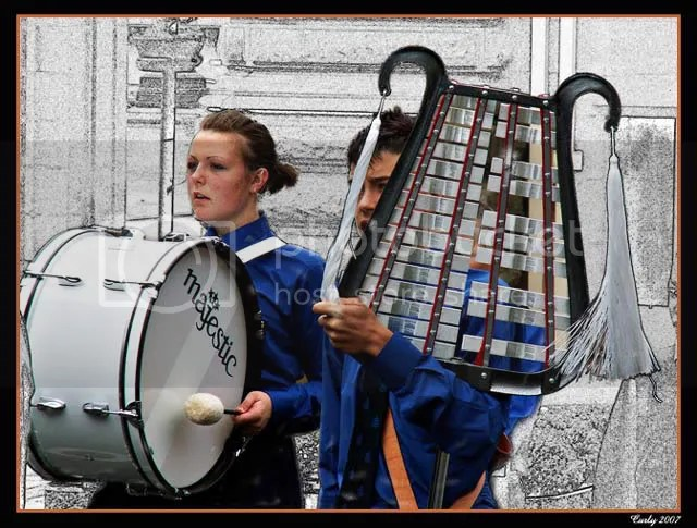 Boy's Brigade band, South Shields
