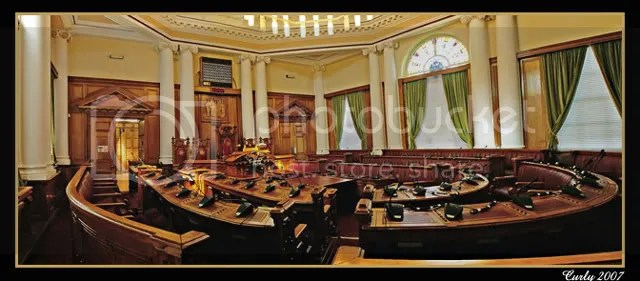 The Council Chamber, South Shields Town Hall