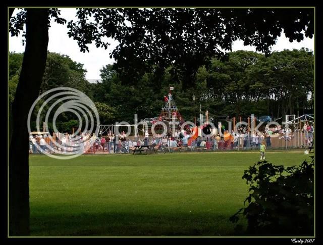 Childrens play area South Marine Park, South Shields