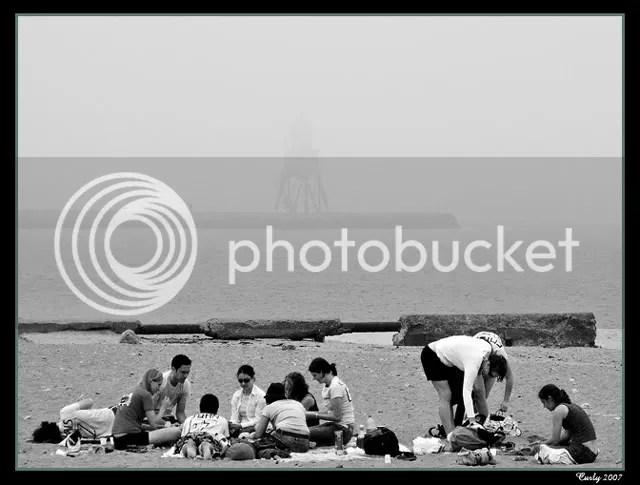 Littlehaven Beach and Groyne, South Shields