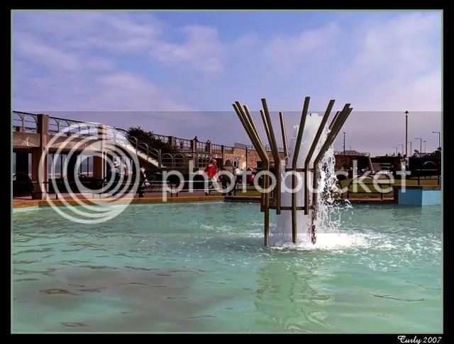 Fountain at Minchellas, Sea Road, South Shields