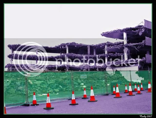 Multi-storey car park, Mile End Road, South Shields