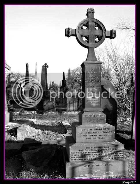 Grave of Revd. James Jeremy Taylor, Westoe Cemetary, South Shields.