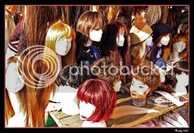 Wigs, South Shields Market