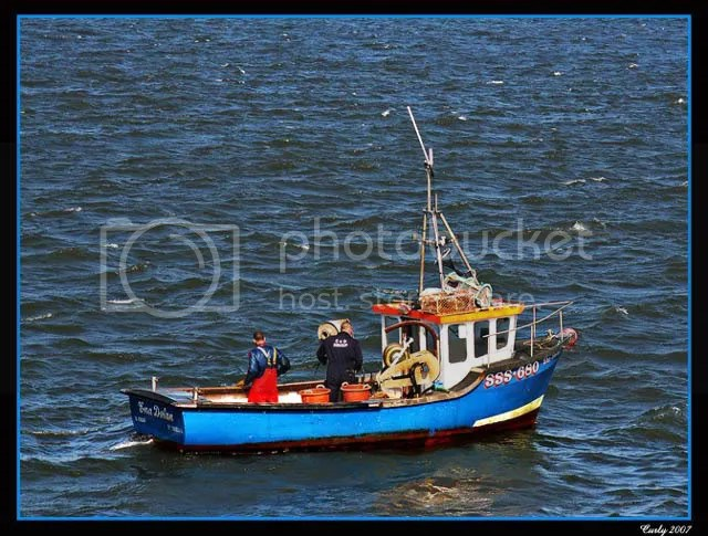boat in south shields harbour
