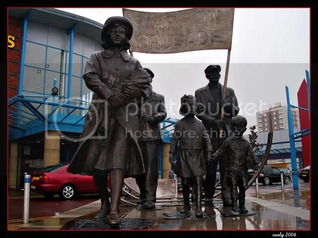 picture of Jarrow March Statue, Jarrow