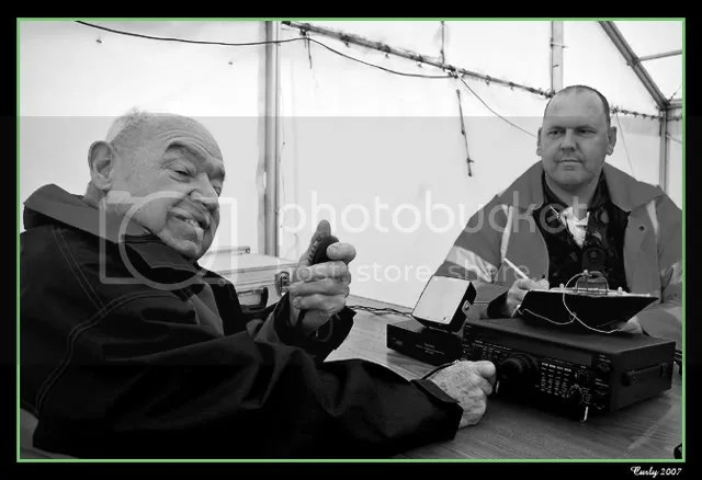 South Tyneside Amateur Radio Club at Soter Lighthouse, South Shields