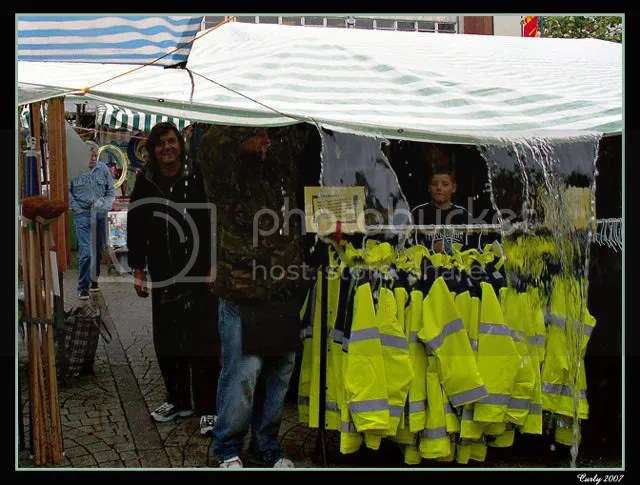 Stallholders at South Shields Market