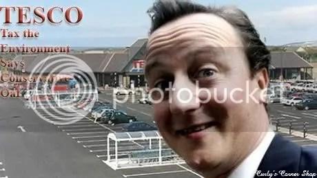 David Cameron, Tesco