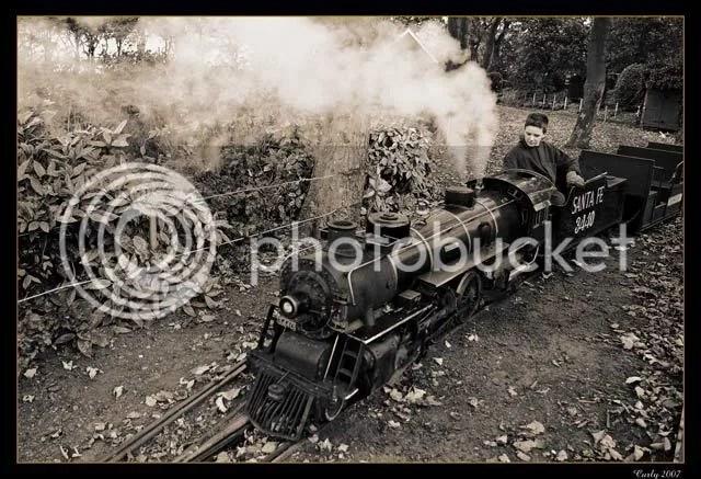 train, south marine park, south shields