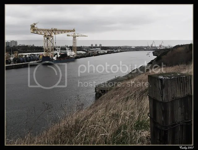 River Tyne at Hebburn