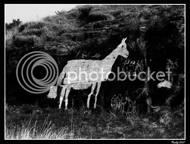 The white horse, Marsden, South Shields