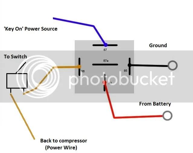 Air Horn Relay Wiring Diagram Hornblasters Train