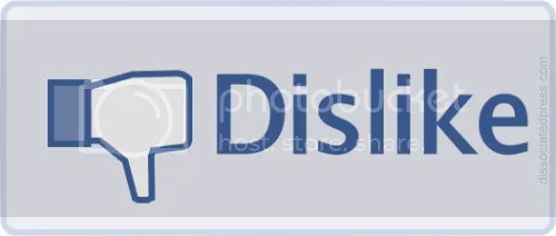 dislike button on facebook Pictures, Images and Photos
