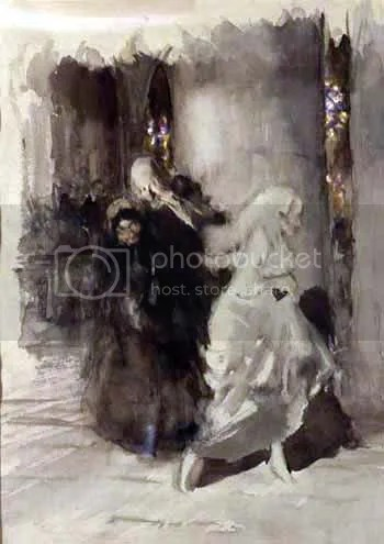 arthur rackham at the wedding