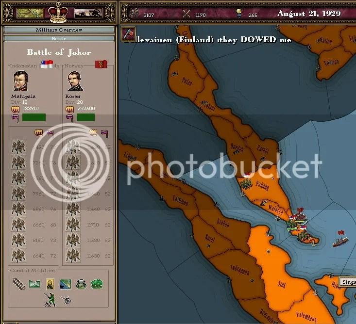 Johor Battle