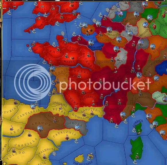 Western Europe, 1451