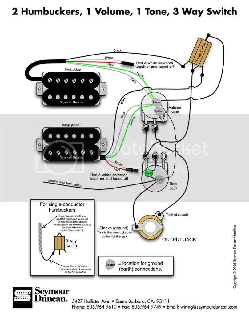 medium resolution of i laid the pots and toggle outside the guitar exactly as the picture shows and soldered it all up then soldered in the input jack and bridge ground wire