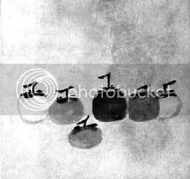 Tranh của thiền sư Mục Khê (1180-1250), đời Tống