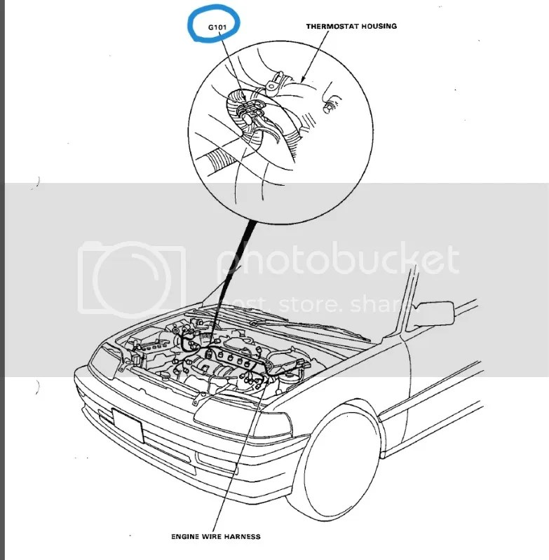 1990 Honda Crx Ecu Wiring Diagram
