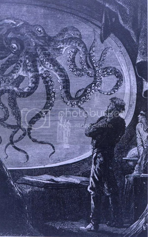 Captain Nemo and the Giant Pacific Octopus