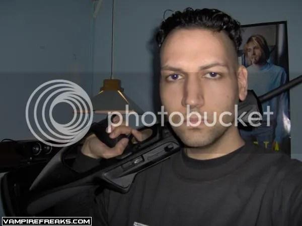 Gill and his gun