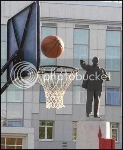 Lenin Sinks One