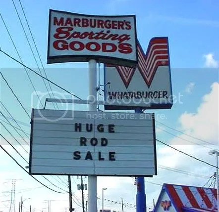 Huge! Rod! Sale!