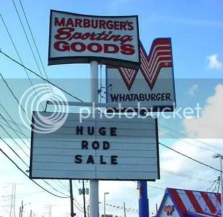 Huge! Rod! Sale!