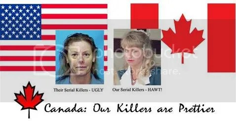 Our serial killers are prettier