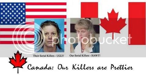 Our serial killers are prettier