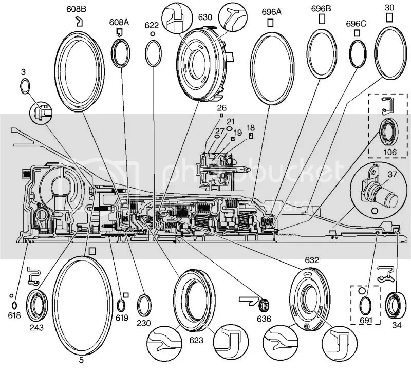 700R4 Transmission Diagram