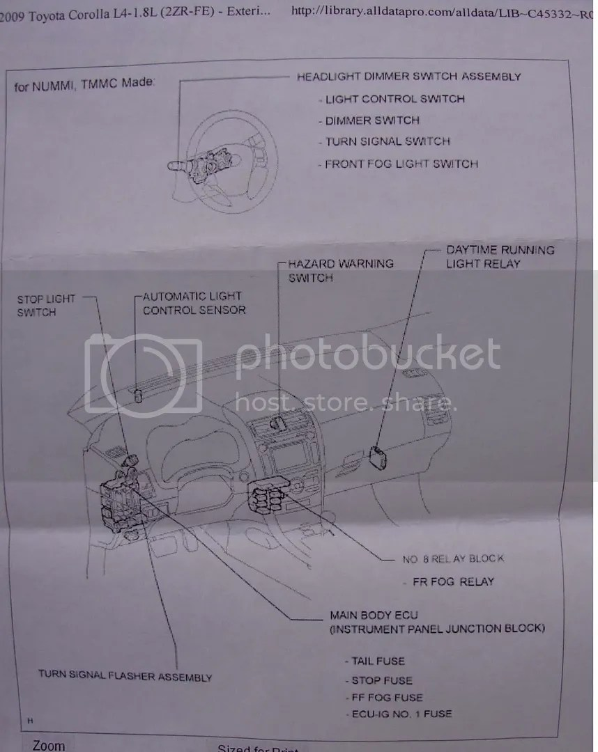 hight resolution of  spark fog light wire harness help toyota nation forum toyota car and on telephone network