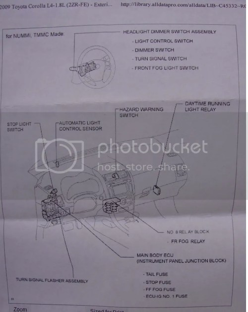 small resolution of  spark fog light wire harness help toyota nation forum toyota car and on telephone network