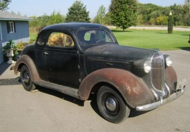 1937 Plymouth Coupe Body Parts