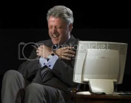 clinton_laughing.jpg picture by Robbedvoter