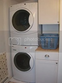 Stacking washer/dryer to save space?