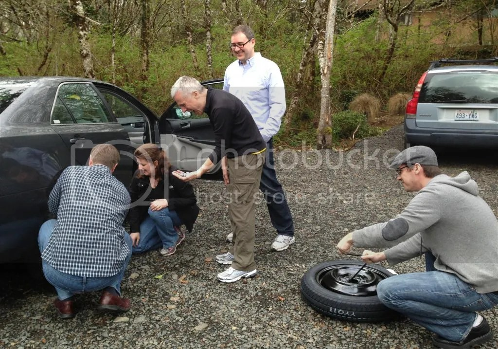 How Many Writers Does it Take to Change a Tire?