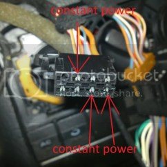 Mk3 Golf Vr6 Wiring Diagram Stratocaster Hsh Fourtitude Radio Constant Power Issue