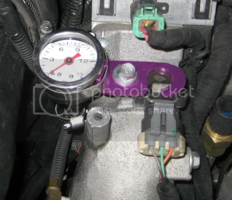 Duramax Fuel Filter Housing Fuel Pressure Gauge Where To Install At Pics Page 4