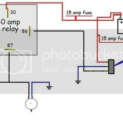 Relay Wiring Diagram 5 Pin Human Eye Unlabeled 40 Amp Car Data Headlight