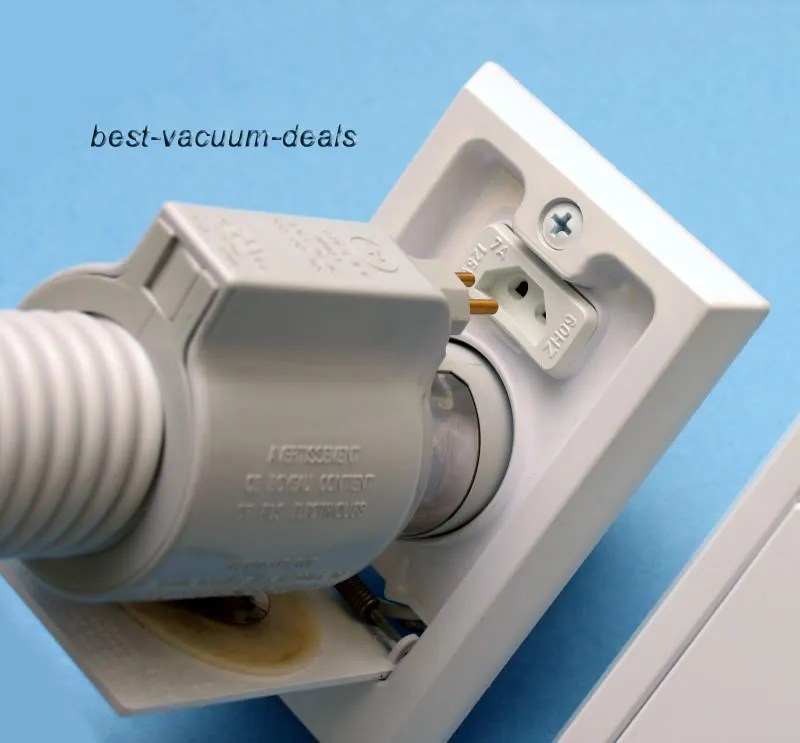 Central Vacuum Power Inlet Valve Installation Instructions