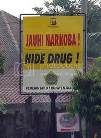 hide drugs