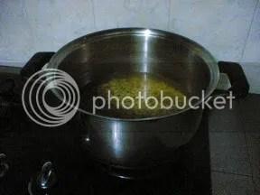 Boil the beans