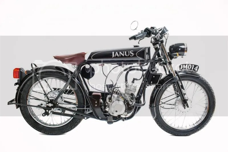 The Curmudgeon Chef: Janus Motorcycles