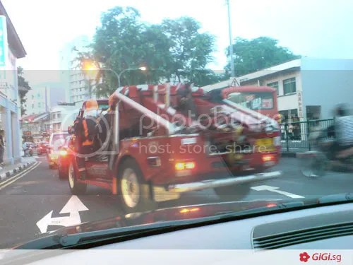 Fire at Ava Towers Balestier Road